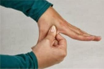 pellizco para el sistema linfatico reflexologia