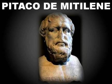 Resultado de imagen para imagenes Pitaco de Mitilene