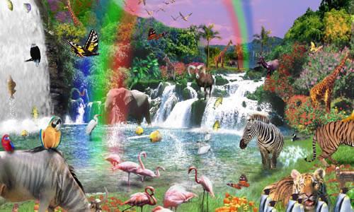 Resultado de imagen para imagenes jardin del eden