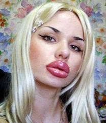 Resultado de imagen para imagenes mujeres con labios muy grandes