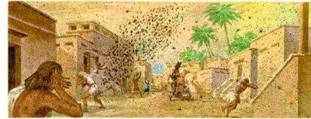Resultado de imagen para imagenes las diez plagas de egipto