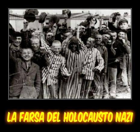 Resultado de imagen para imagenes la farsa del holocausto