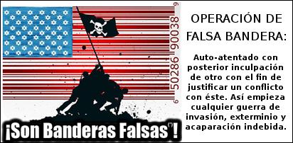 Resultado de imagen para IMAGENES operacion bandera falsa