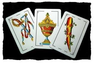 Resultado de imagen para imagenes cartas del truco cuatro as