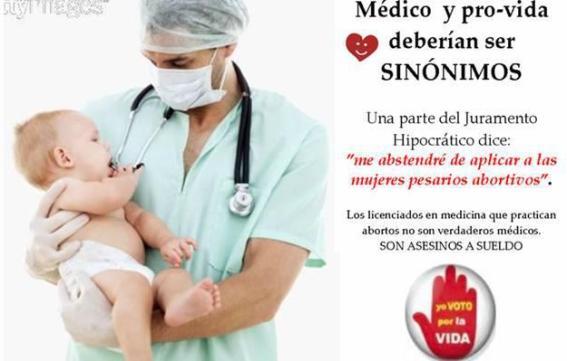 Resultado de imagen para imagenes medicos asesinos aborto