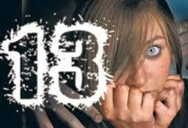 Resultado de imagen para IMAGENES Triscaidecafobia: miedo al número 13